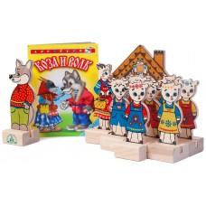 Набор «Персонажи сказки «Волк и семеро козлят»