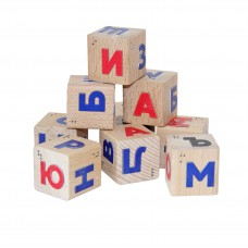 "Кубики со шрифтом Брайля ""Алфавит"""
