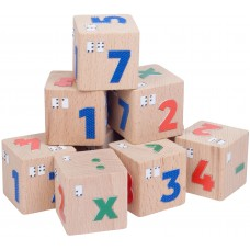 "Кубики со шрифтом Брайля ""Цифры"""